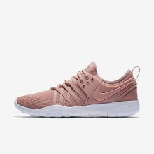 344CAQXN Nike Free TR Training Shoes For Women Rust Pink/White/Coral Stardust