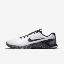 351VEYWZ Nike Metcon 4 Treningssko Herre Hvite/Svart