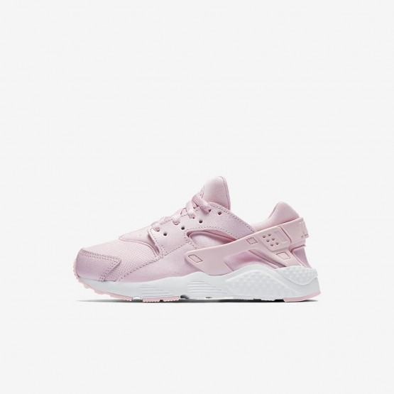 361ZRGPO Nike Huarache Lifestyle Shoes For Girls Prism Pink/White
