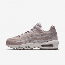 362YHOBZ Nike Air Max 95 Lifestyle Shoes For Women Particle Rose/Vast Grey/Summit White