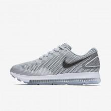 366DZKYO Nike Zoom All Out Løpesko Dame Grå/Grå/Hvite/Svart