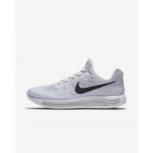 375GRYXK Nike LunarEpic Low Løpesko Dame Hvite/Platina/Grå/Svart