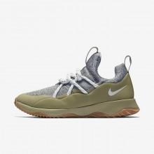 378HEPOJ Nike City Loop Livsstil Sko Dame Olivengrønne/Olivengrønne/Brune/Hvite