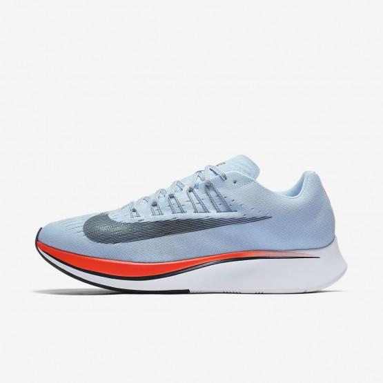 381LVPOA Nike Zoom Fly Running Shoes For Men Ice Blue/Bright Crimson/University Red/Blue Fox
