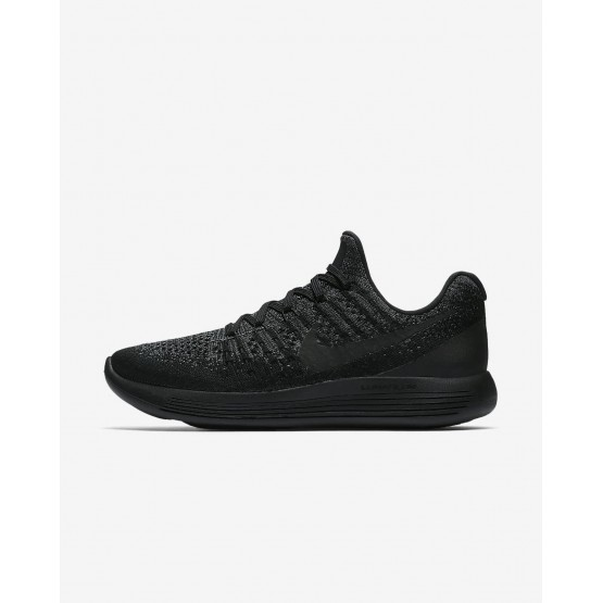 385MCVEZ Nike LunarEpic Low Løpesko Dame Svart/Mørke Grå/Blå