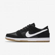 386TVBOF Zapatillas Skate Nike SB Dunk Hombre Negras/Marrones Claro/Blancas
