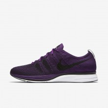 391GMWNV Nike Flyknit Trainer Lifestyle Shoes For Men Night Purple/White/Black