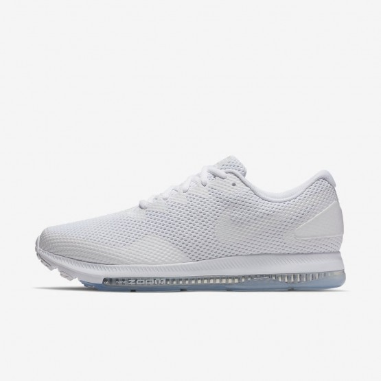 393AIKRB Nike Zoom All Out Running Shoes For Men White/Off White