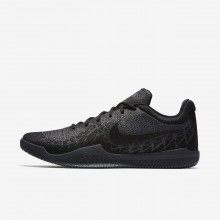 409MTXQJ Nike Mamba Rage Basketball Shoes For Men Black/Dark Grey/Cool Grey
