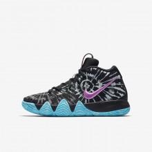 410EJKFH Zapatillas Baloncesto Nike Kyrie 4 Niño Negras/Blancas