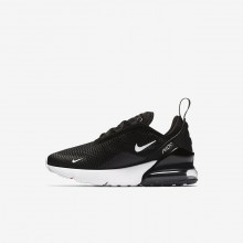 413AUKBM Nike Air Max 270 Lifestyle Shoes For Boys Black/Anthracite/White