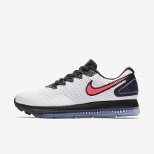 414DQTHY Nike Zoom All Out Running Shoes For Women White/Black/Solar Red