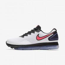 414DQTHY Nike Zoom All Out Løpesko Dame Hvite/Svart/Rød