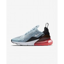 419JLUTY Nike Air Max 270 Lifestyle Shoes For Women Ocean Bliss/Black/Hot Punch/White