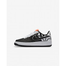 426GMSTL Nike Air Force 1 Lifestyle Shoes For Boys Black/White