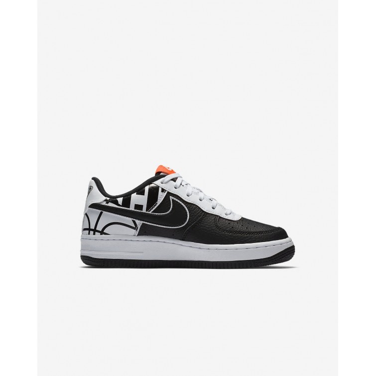 air force 1 niño negras