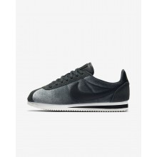 433CBYVA Nike Cortez Lifestyle Shoes For Women Anthracite/Metallic Gold/Black