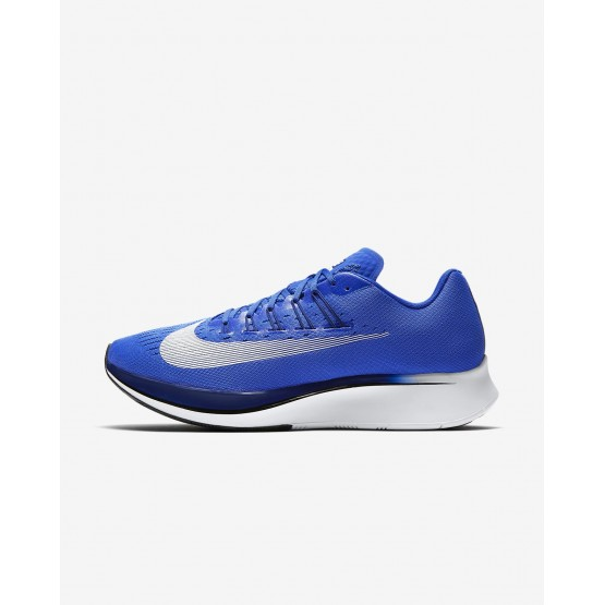 434BDPJK Nike Zoom Fly Running Shoes For Men Hyper Royal/Deep Royal Blue/Black/White