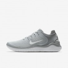 435ORIWN Nike Free RN Running Shoes For Men Wolf Grey/White/Volt