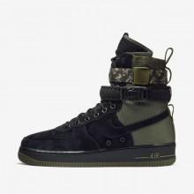 437OTRNX Nike SF Air Force 1 Lifestyle Shoes For Men Black/Medium Olive/Neutral Olive