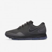 439DVKPC Nike Zoom All Out Running Shoes For Women Midnight Fog/Obsidian/Black