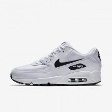 443UEKXD Nike Air Max 90 Lifestyle Shoes For Women White/Black
