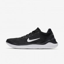 445YHSUM Nike Free RN Running Shoes For Men Black/White