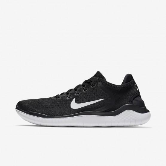 445YHSUM Nike Free RN Løpesko Herre Svart/Hvite