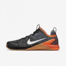 446AUCTJ Nike Metcon DSX Training Shoes For Men Black/Hyper Crimson/Light Carbon/White