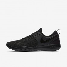 455XIZTC Nike Free TR Training Shoes For Women Black/Dark Grey