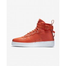456KELGM Nike SF Air Force 1 Lifestyle Shoes For Men Team Orange/Black