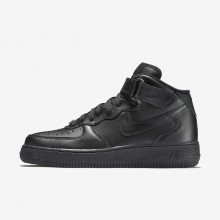 469ZIGTK Zapatillas Casual Nike Air Force 1 Mujer Negras