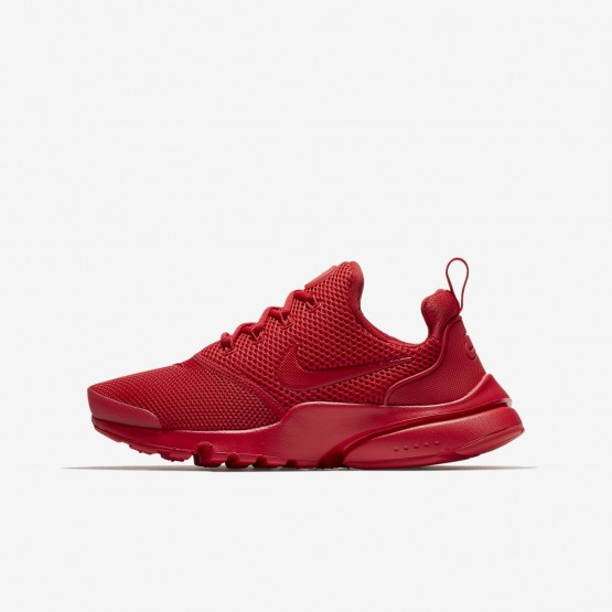 472AXTND Nike Presto Fly Lifestyle Shoes For Boys University Red