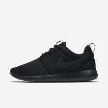 477UFLMN Zapatillas Casual Nike Roshe One Mujer Negras/Gris Oscuro