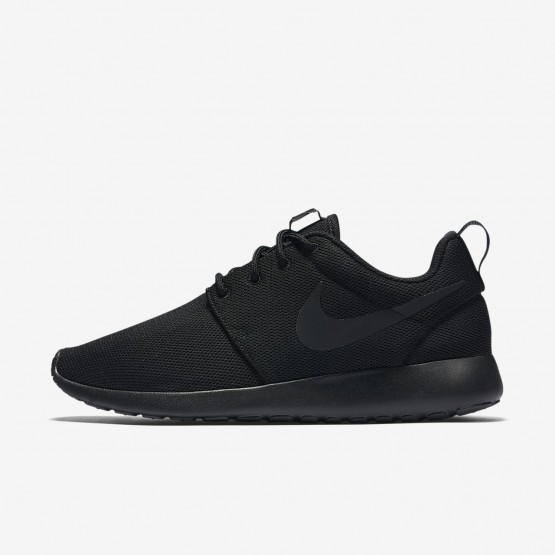477UFLMN Nike Roshe One Lifestyle Shoes For Women Black/Dark Grey
