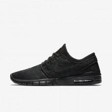 482ZQIFB Nike SB Stefan Janoski Max Skateboarding Shoes For Men Black/Anthracite