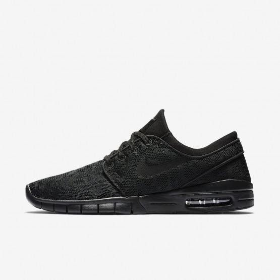 482ZQIFB Nike SB Stefan Janoski Max Kaykay Ayakkabı Erkek Siyah
