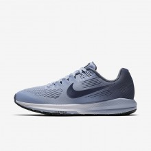 488PRAXS Nike Air Zoom Running Shoes For Women Armory Blue/Cirrus Blue/Cerulean/Armory Navy