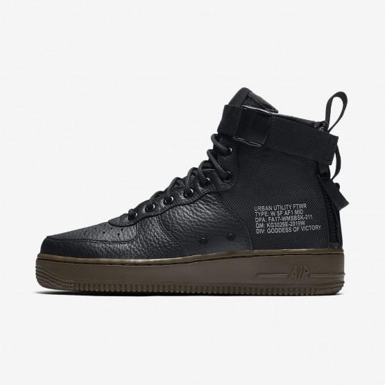 489OFTKI Nike SF Air Force 1 Lifestyle Shoes For Women Black/Dark Hazel
