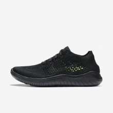 489UMQHR Nike Free RN Running Shoes For Women Black/Anthracite