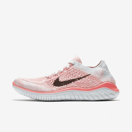 493HPKSD Nike Free RN Koşu Ayakkabısı Bayan Platini/Mor/Siyah