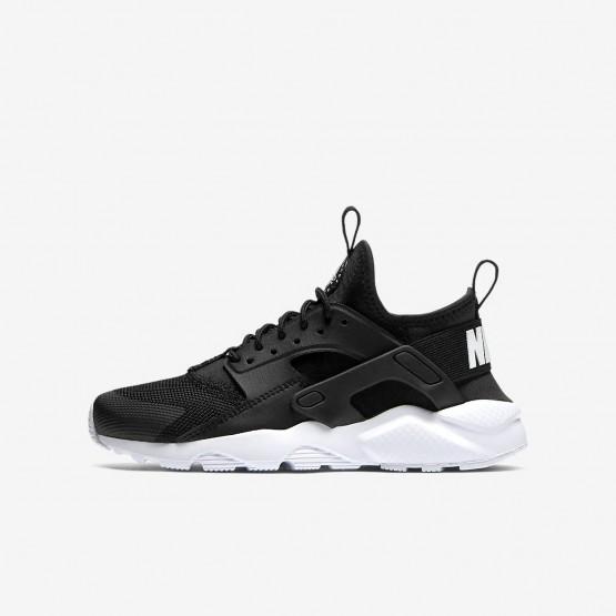 494XYNZC Zapatillas Casual Nike Air Huarache Niño Negras/Blancas