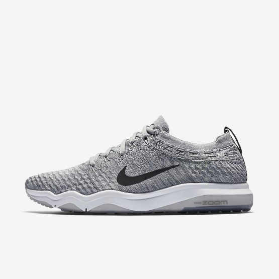495NFQVS Nike Air Zoom Training Shoes For Women Wolf Grey/White/Anthracite