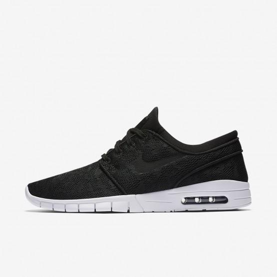 497XYIUD Nike SB Stefan Janoski Max Skateboarding Shoes For Men Black/White