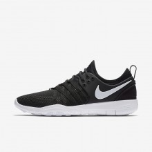 522UAQPX Nike Free TR Training Shoes For Women Black/White