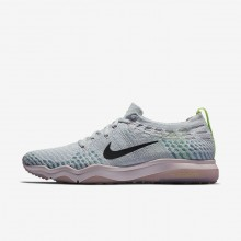538NIPQM Nike Air Zoom Training Shoes For Women Pure Platinum/Barely Rose/Elemental Rose/Anthracite