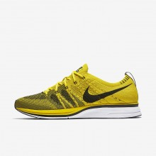 547AODXF Nike Flyknit Trainer Lifestyle Shoes For Men Bright Citron/White/Black