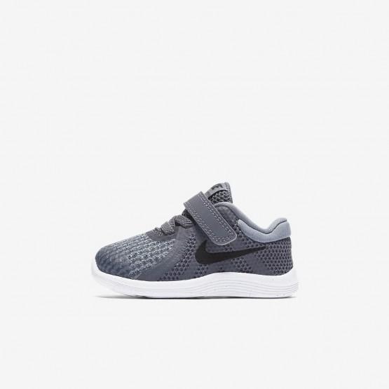 552QLVTG Zapatillas Running Nike Revolution 4 Niña Gris Oscuro/Gris/Blancas/Negras