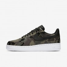 557QHIFD Nike Air Force 1 Lifestyle Shoes For Men Medium Olive/Baroque Brown/Sequoia/Black