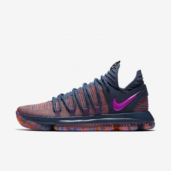 560KXCEW Nike Zoom KDX Basketball Shoes For Women Ocean Fog/Hyper Crimson/Fuchsia Blast